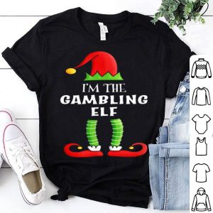 Premium Gambling Elf - Group Family Matching Christmas Gift shirt