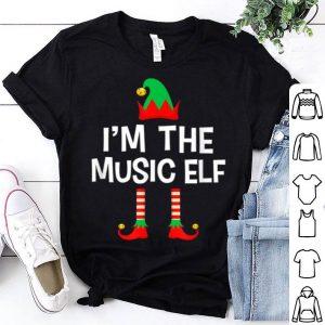 Premium I'm The Music Elf Matching Family Group Christmas shirt