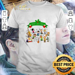 Premium Merry Christmas Peanuts Friends shirt
