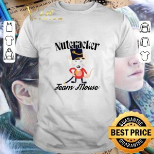 Premium Nutcracker Soldier Toy Christmas Team Mouse shirt