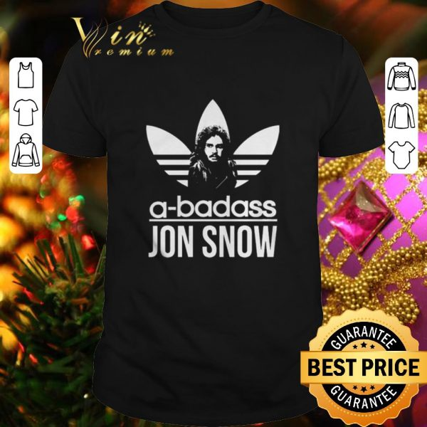 Premium adidas a-badass Jon Snow shirt
