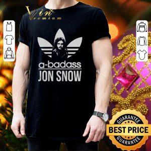Premium adidas a-badass Jon Snow shirt 2