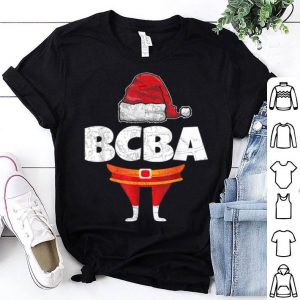 Pretty BCBA Board Certified Behavior Analyst Christmas Themed sweater
