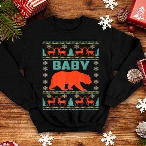 Pretty Baby Bear Christmas Matching Family Ugly Plaid Gift shirt