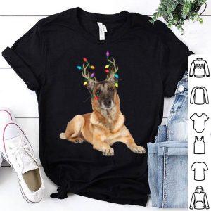 Pretty Belgian Malinois Reindeer Christmas Dog shirt