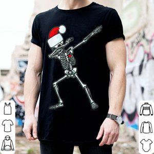 Pretty Dabbing Skeleton Santa Kids Adult Gift Funny Christmas shirt