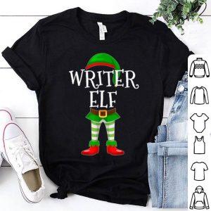 Pretty Writer Elf Matching Family Christmas Gift design shirt