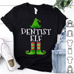 Top Dentist Elf Funny Dental Christmas shirt