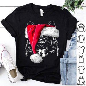 Top German Shepherd Christmas dog tee gift shirt