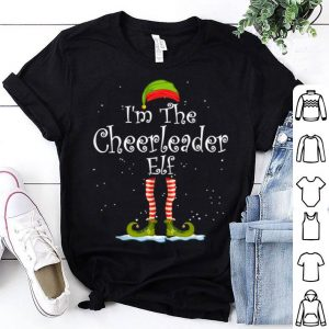 Top I'm The Cheerleader Elf Christmas Family Elf Costume sweater