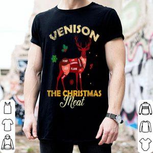 Top Venison Meat Chart The Christmas Meat Deer Hunter shirt