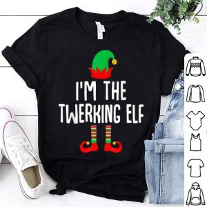 Beautiful I'm The Twerking Elf Matching Family Group Christmas sweater