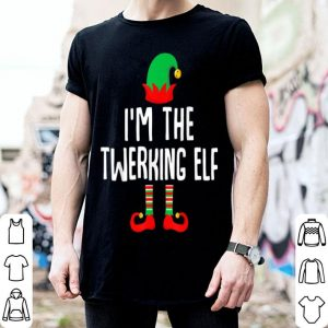 Beautiful I'm The Twerking Elf Matching Family Group Christmas sweater