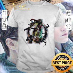 Cheap Marvel Avengers Endgame logo Iron Man Captain Marvel Captain America shirt