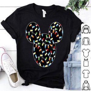 Disney Mickey Christmas Lights sweater
