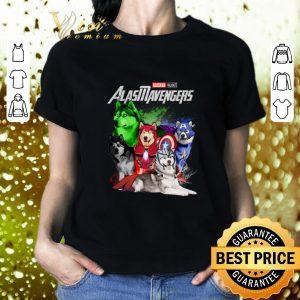 Funny Marvel Avengers Endgame Alaskan Malamute Alasmavengers shirt
