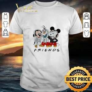 Funny Mickey Olaf and Snoopy Friends shirt