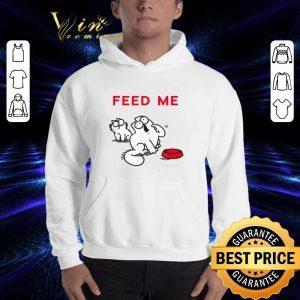 Funny Simon's Cat Feed Me shirt 2