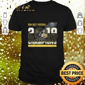 Funny Sun Belt Football 2019 Champions Appalachian State Mountaineers shirt