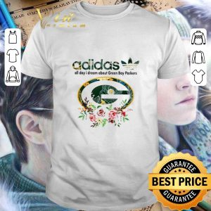Funny adidas all day i dream about Green Bay Packers shirt