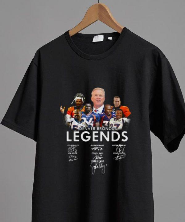 Great Denver Broncos Legends Signatures shirt