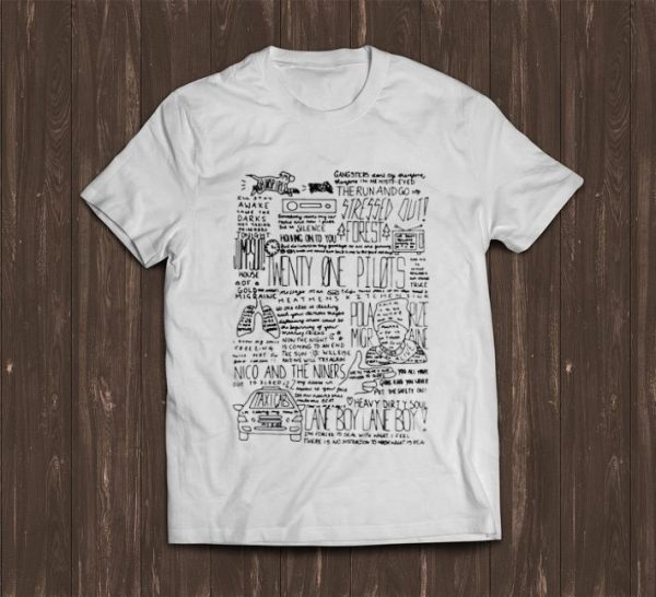 Great Twenty One Pilots Lane Boy Lyrics shirt