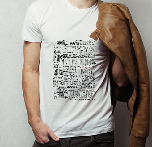 Great Twenty One Pilots Lane Boy Lyrics shirt 4 - Great Twenty One Pilots Lane Boy Lyrics shirt