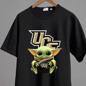 Hot Star Wars Baby Yoda Hug NFL UCF Knights shirt 1