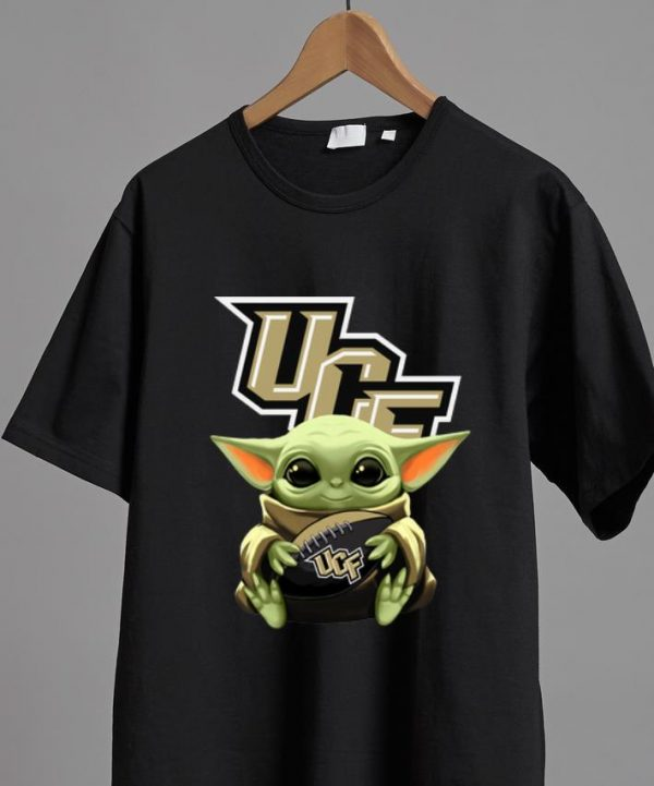 Hot Star Wars Baby Yoda Hug NFL UCF Knights shirt