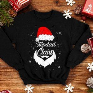 Nice Funny Christmas Stepdad Santa Hat Matching Family Xmas Gifts sweater