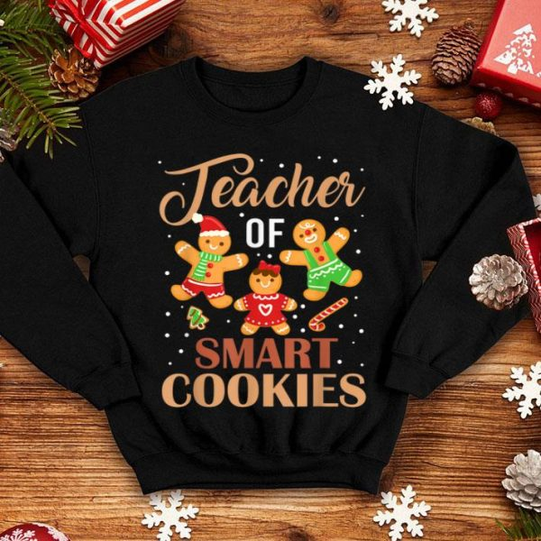 Nice Funny Christmas Teacher Cute Gingerbread Cookies sweater