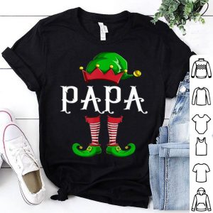 Nice Papa Elf Family Matching Group Christmas Gift Dad Men Funny sweater