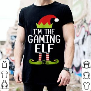 Official I'm The Gaming Elf Christmas Family Elf Costume sweater