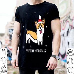 Official Merry Corgimas Christmas Santa Hat Funny Corgi Dog sweater