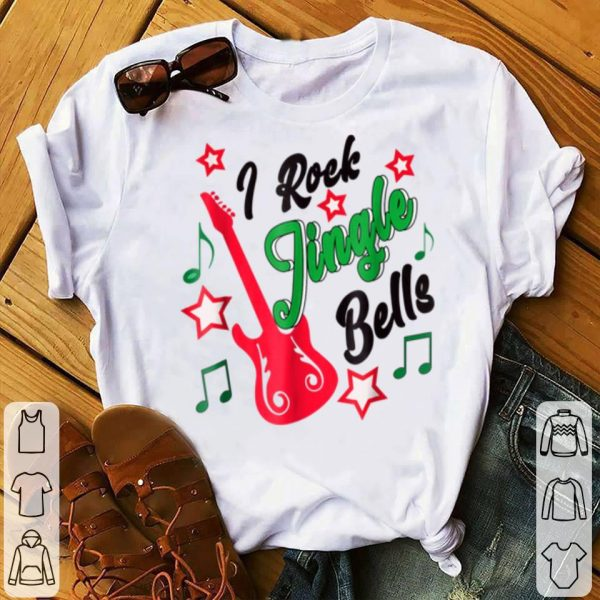 Official Rock & Roll Christmas I Rock Jingle Bells sweater