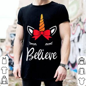 Official Unicorn Believe Christmas - I Want to Believe sweater