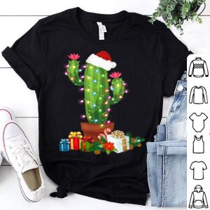 Premium Christmas Lights Cactus Lover Funny Xmas Gift sweater