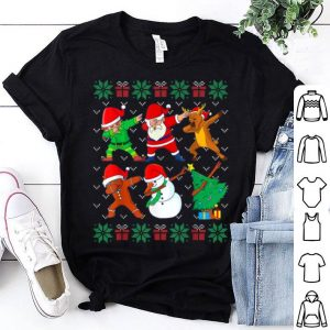 Premium Dabbing Christmas Ugly Xmas Sweater Santa Dab Squad Kids Boy sweater