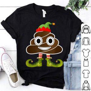 Premium Elf Poop Emoji Family Group Christmas Costume Pajama sweater
