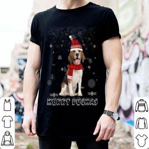 Premium Merry Dogmas Beagle dog Snow Christmas Eve Xmas sweater