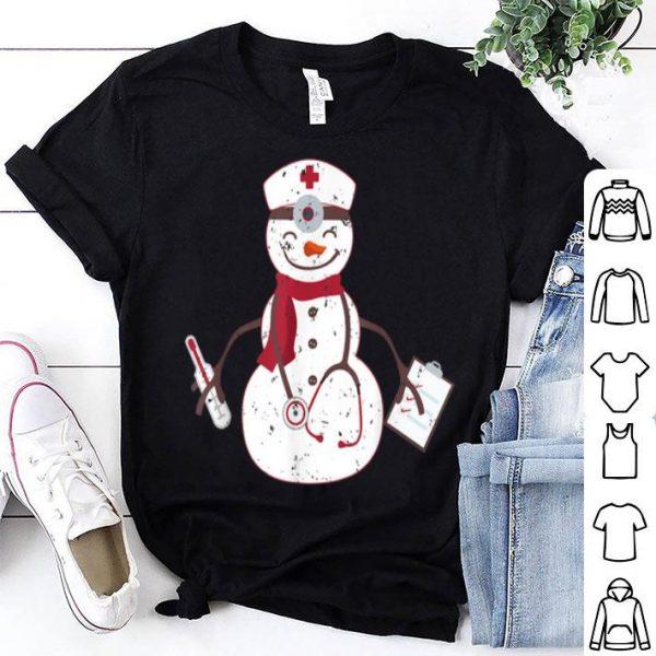 Premium Nurse Christmas For Women Snowman Nurse Gift sweater