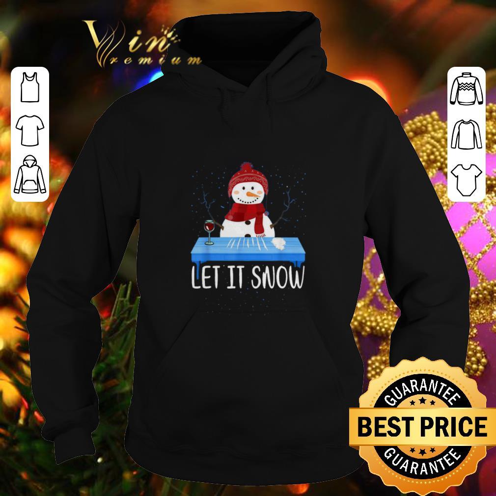 Premium Santa Snowman Let It Snow Walmart Cocaine shirt 4 - Premium Santa Snowman Let It Snow Walmart Cocaine shirt