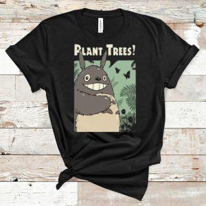 Premium Totoro Plant Trees shirt