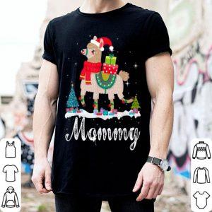Pretty Mommy Llama Christmas Funny Matching Family Pajama Gift sweater
