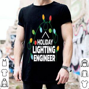 Top Funny Christmas HOLIDAY LIGHTING ENGINEER sweater