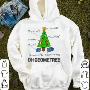 Top Funny Math Geometry Christmas Tree Geometree Teacher sweater