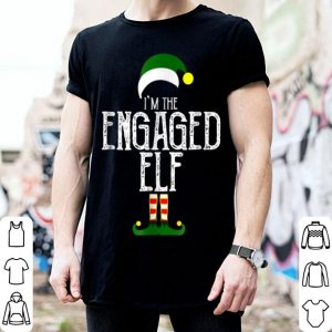Top I'm The Engaged Elf Engagement Party Bachelorette Tee sweater