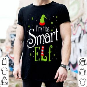 Top I'm The Smart Elf Funny Group Matching Family Xmas Gift sweater