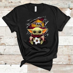 Great Star Wars Baby Yoda Blood Inside As Roma shirt