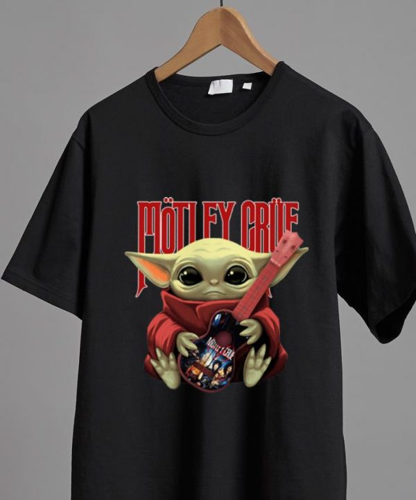 Great Star Wars Baby Yoda Hug Motley Crue shirt